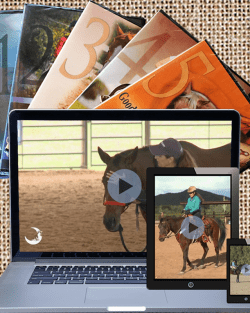 Video covers behind a laptop, tablet, and smartphone